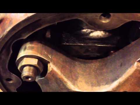 Kaplan hydro turbine rod check