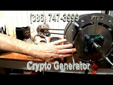 Crypto Mine - Low Elec. Costs - New Generator