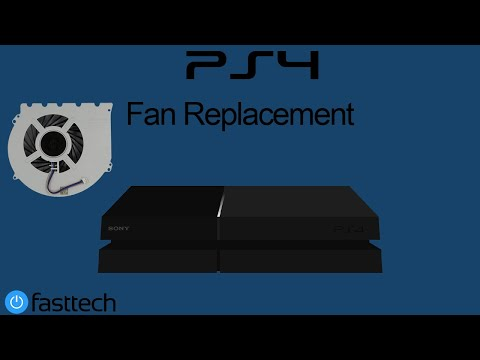PS4 is Too Hot and Turns off Repair (Fan Replacement CUH-1001A/CUH-1115A)