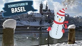 Basel Wetter: Schneesturm
