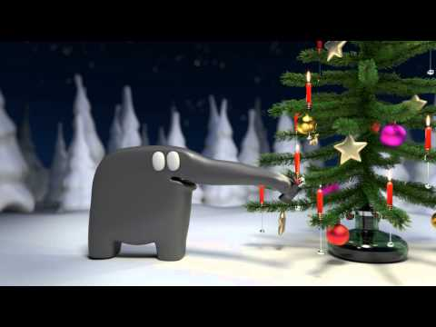 Der Elefant und der Weihnachtsbaum