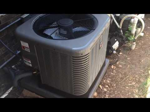2ton Ruud HVAC install Tallahassee, Florida