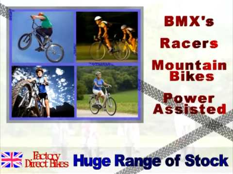 Factory Direct Bikes UK  Online Bikes and accessories