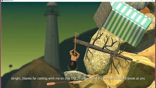FYNDR Plays Getting Over It With Bennett Foddy
