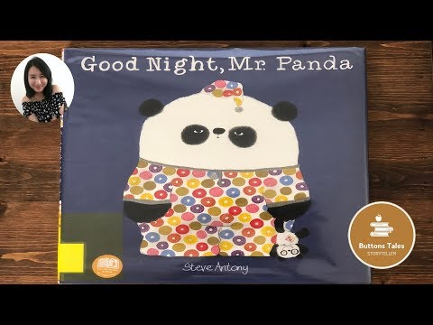 Goodnight Mr Panda By Steve Antony | Buttons Tales Read Aloud