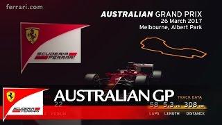 Australian Grand Prix Preview   Scuderia Ferrari 2017