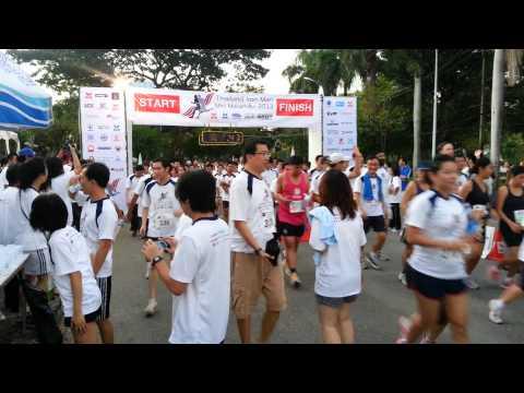 Thailand Iron Man Mini Marathon 2013