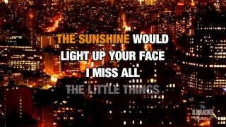 From Where You Are in the style of Lifehouse | Karaoke with Lyrics