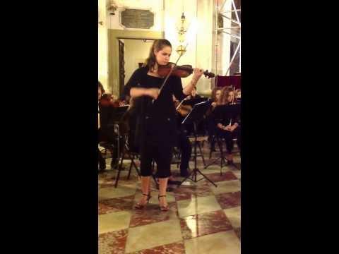 Saint-Saens C. Introduzione e Rondò capriccioso op.28 Elisa Spremulli violino solista