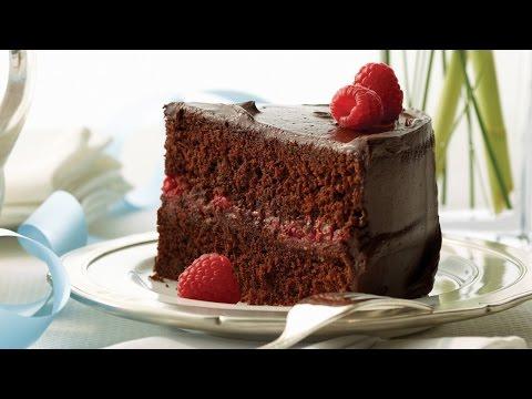 Chocolate Raspberry Celebration Cake | 2012 Milk Calendar