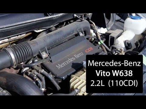 Как должен работать мотор 2.2 CDI Mercedes Vito Engine working. 2.2 CDI 110 Vito