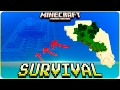 Minecraft PE Seeds - Survival Island with Ocean Monument & Village Seed -  MCPE 1.2 / W10 / Xbox