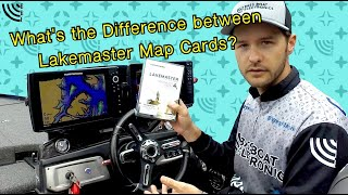 What is the Difference Between Humminbird LakeMaster Map Cards?