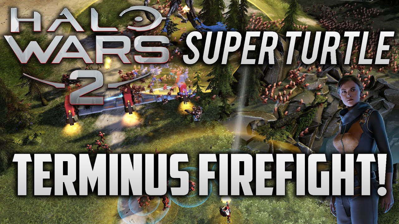 Terminus Firefight - Anders Super Turtle! | Halo Wars 2
