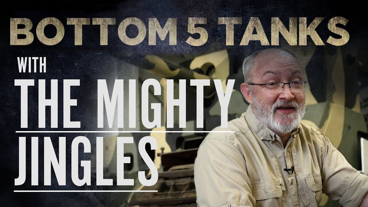 The Mighty Jingles | Bottom 5 Tanks | The Tank Museum