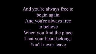 Written in your heart - lyrics