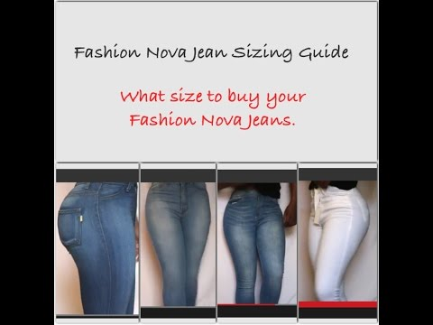 Fashion Nova Jean Haul. Try On. Buying Guide. Sizing Guide | BiContinental Life&Style