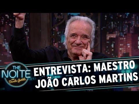 Entrevista com o maestro João Carlos Martins | The Noite (08/09/17)