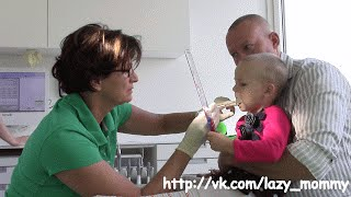 Детский стоматолог. Кариес у ребенка. Молочные зубы. Лечение зубов под общим наркозом. Наш опыт(Как лечат зубы детям в Германии? Коронка на молочный зуб. Пломбирование молочных зубов. Профилактика кариес..., 2015-09-24T13:04:32.000Z)