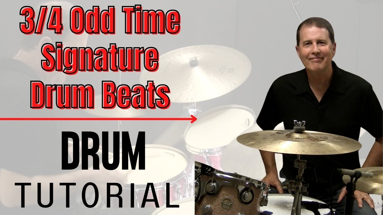 3 4 odd time signature drum lesson series preview with johnx youtube. Black Bedroom Furniture Sets. Home Design Ideas