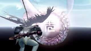 Dragon Nest Bringer Abyss Walker and Light Fury skill slow motion [ white version ]