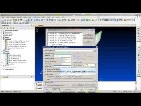 How to create an external superelement in femap youtube.