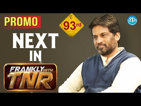 Next In Frankly With TNR #93 - Promo || Talking Movies With iDream