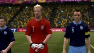 Sweden v England - UEFA Euro 12 Gameplay (Xbox 360)