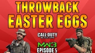 "ThrowBack Easter Eggs - Ep.5 ""Getaway, Bakaara, Outpost"" (Modern Warfare 3, MW3,  Call of Duty)"