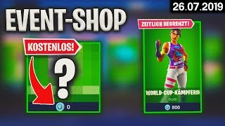 FORTNITE SHOP from 26.7 - 😨 Free! 🛒 Fortnite Daily Item Shop of today (26 July 2019) | Detu