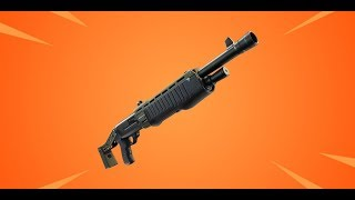 Blowing people up with the New PumpShotgun. (FORTNITE)
