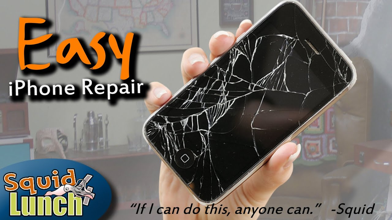 how to fix a cracked iphone screen diy