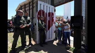 Families separated by the border share hugs and tears at special reunion