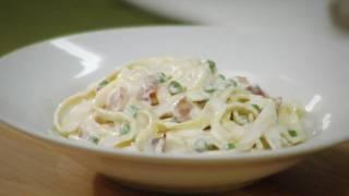 Philadelphia Pasta Carbonara