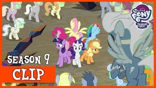 The Mane Six vs the Sombra Fied Horde (The Beginning of the End) | MLP: FiM [HD]