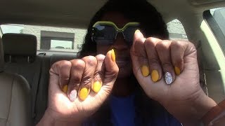 VLOG: NAIL SHOP, FINALLY GOT A VACUUM CLEANER, & A OIL CHANGE AT WALMART!