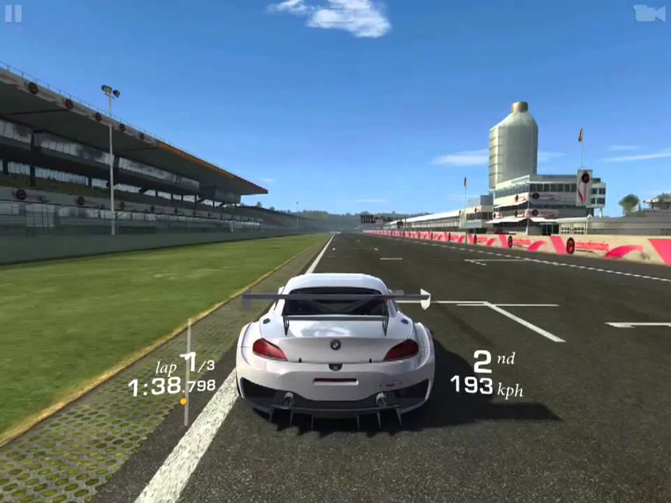 Ios Real Racing 3 Bmw Z4 Gt3 Cup Hockenheimring