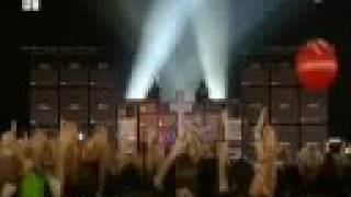 Justice - D.A.N.C.E / Phantom Part 1.5 (Live at Rock Werchter 2008) PRO SHOT HQ