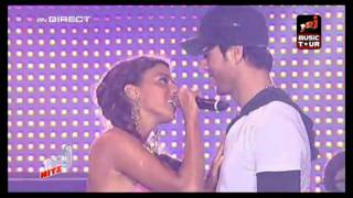 Hd Enrique Iglesias Ft. Nadiya Tired of being sorry LIVE NRJ Music Tour..mp3