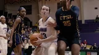 FLASHBACK | JMU Women's Basketball vs. ETSU