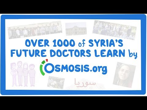 More than 1,000 of Syria's future doctors learn by Osmosis