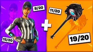 🔥 I NOTE YOUR 20 TRYHARD SKIN COMBOS ON FORTNITE! v31