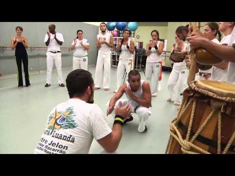Capoeira Luanda San Diego Intructor Massape vs Professor  Nego