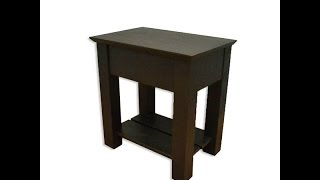 Hidden Compartment Nightstand - Secret Compartment Nightstand (type 2) Assembly Help