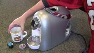 CBTL Single Cup Brewer Coffee Espresso Tea Machine - Kaldi - Review & Demo