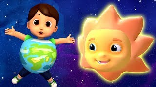 The Planets Song | Nursery Rhymes and Kids Songs