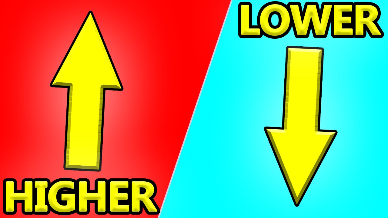 HIGHER OR LOWER?! | Doovi