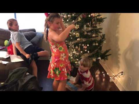 Kids' Christmas Kitten Surprise!
