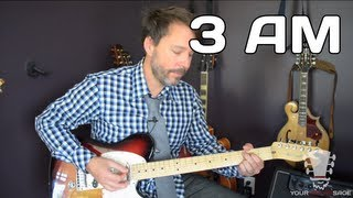 3 AM by Matchbox Twenty - Easy Guitar Lesson