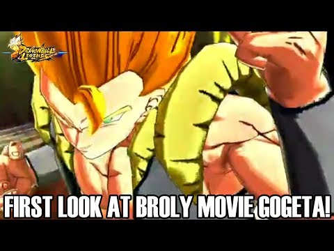FIRST LOOK AT SPARKING BROLY MOVIE GOGETA THAT'S COMING IN THE BIG UPDATE! Dragon Ball Legends Info!